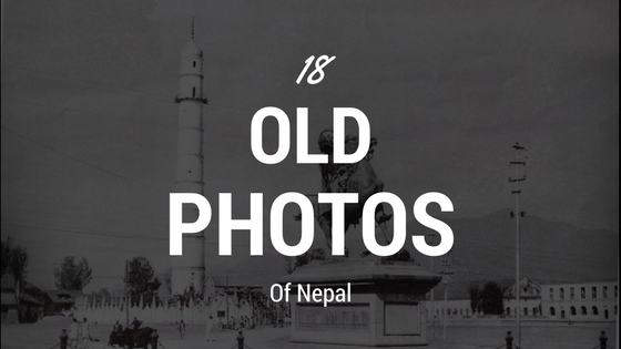 old photos of nepal