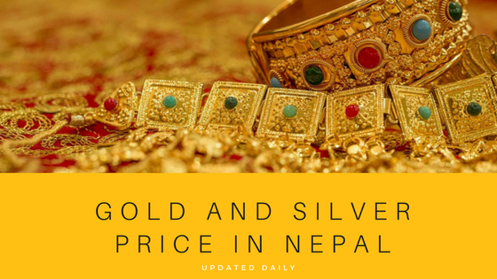 todays gold rate nepal