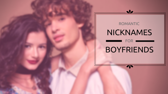 Romantic Nicknames for Husbands