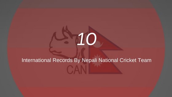 records by nepali national cricket team