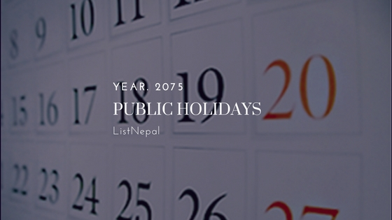 public holidays in nepal