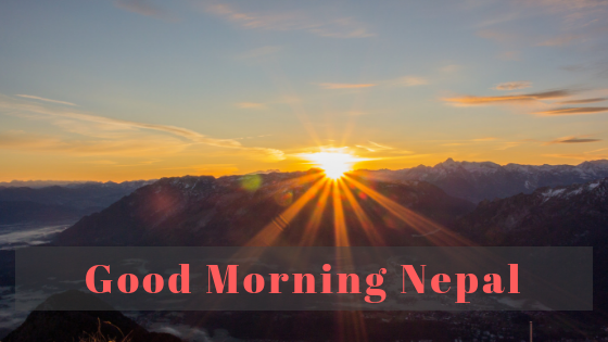 Good Morning Messages In Nepali Language - ListNepal